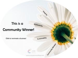 Community Winner Stamp